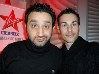Cyril Hanouna en direct Virgin radio Bordeaux