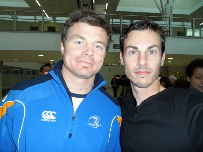 Brian O'Driscoll (3/4 Centre rugby Irlande et Leinster)