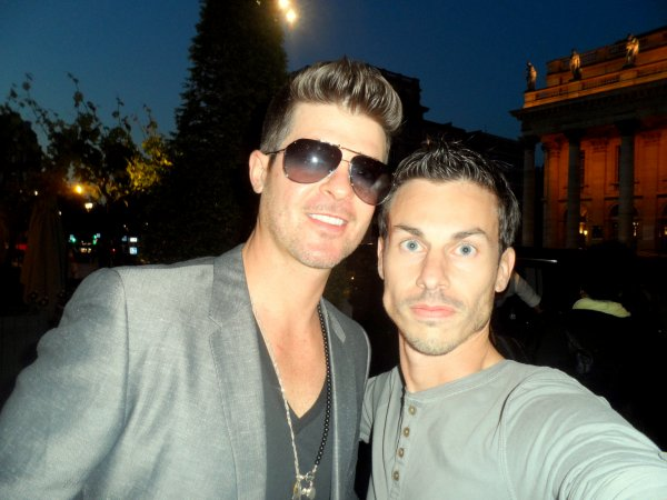 Robin Thicke @ Bordeaux NRJ Music Tour