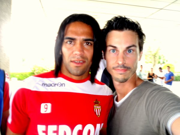 Radamel Falcao (Monaco - Colombie - Football)