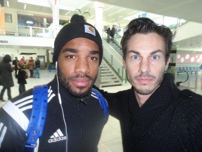 Joueurs de foot de Lyon