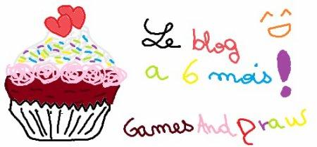 6 mois du blog , cup cake..