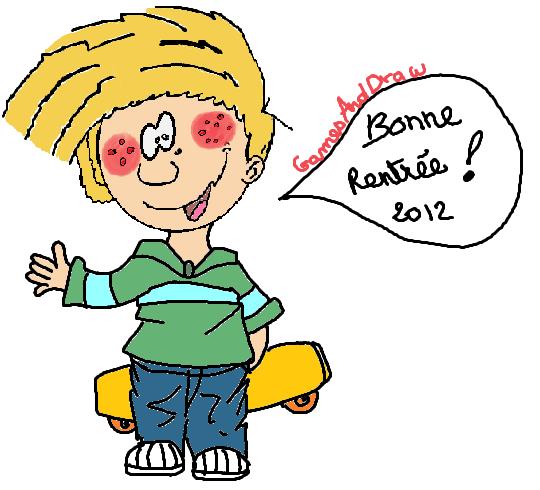 Bonne Rentrée ! (août/septembre 2012) avec Cédric