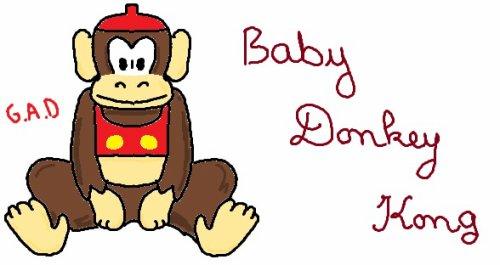 bébé Donkey Kong....vacances ..longues..