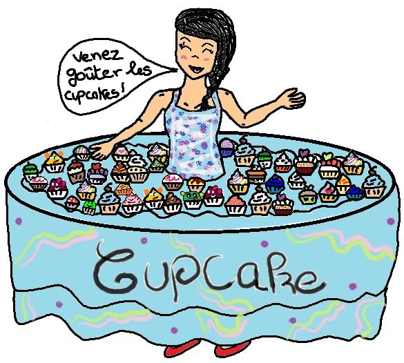 Cup Cake concours ♥o♥