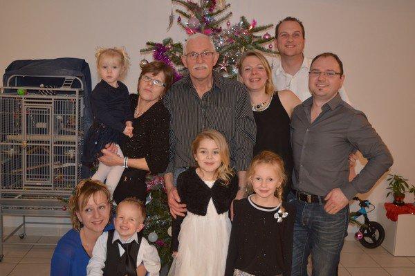 Nous avec nos Filles nos Gendre  et petits enfants