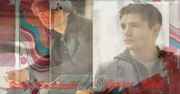 Jensen ackels VS jared padalecki!=)