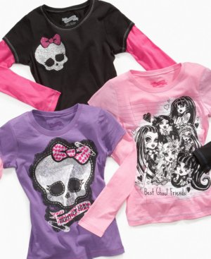 monster high les t-shirt