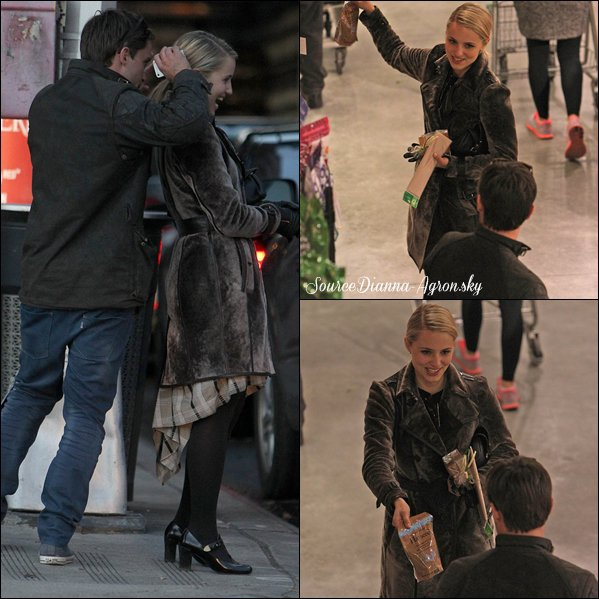 ☆ Candids du 14.11.12 : Dianna et son new boyfriend ont été aperçus à NY !  Ils son trop cute tous les deux :P J'adore comment est habiller Di' :)