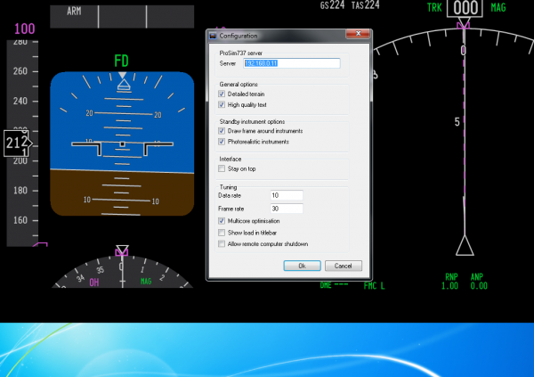 COMMENT CONFIGURER PROSIM POUR CP FLIGHT MIP 737 ICS