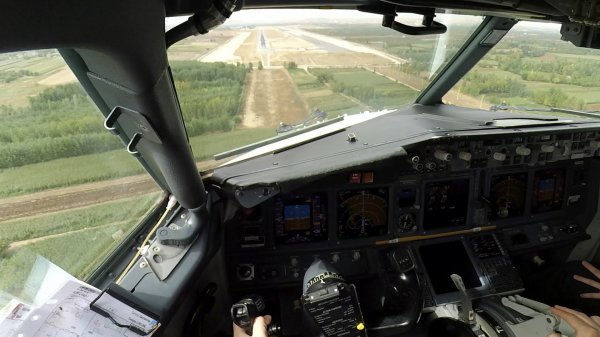 BARRE CENTRALE PARE BRISE BOEING 737