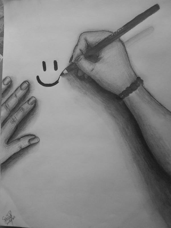Je donne un sourire sans savoir s'il peut consoler...