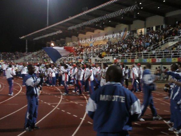défilé cérémonie d'ouverture