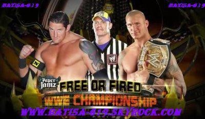 "John Cena ""free or fired"""