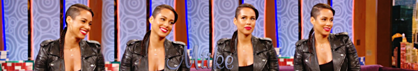 • Alicia Keys au Wendy Williams Show (Novembre 2014)