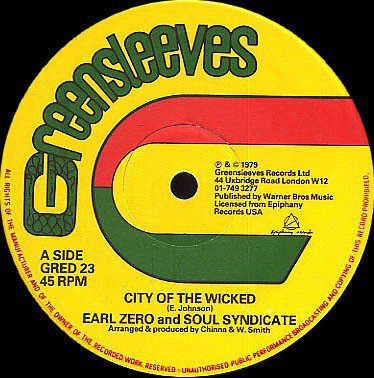 selection n198 - earl zero & the soul syndicate - city of the wicked