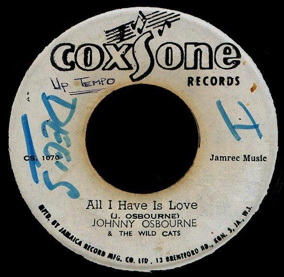 selection n282 - johnny osbourne - all i have is love