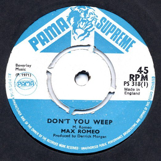 selection n346 - max romeo - don't you weep