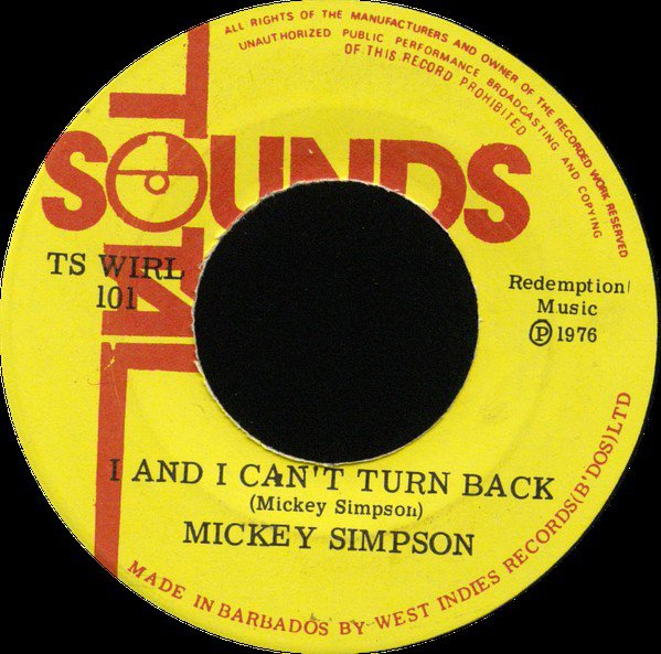 selection n351 - mickey simpson - i and i can't turn back