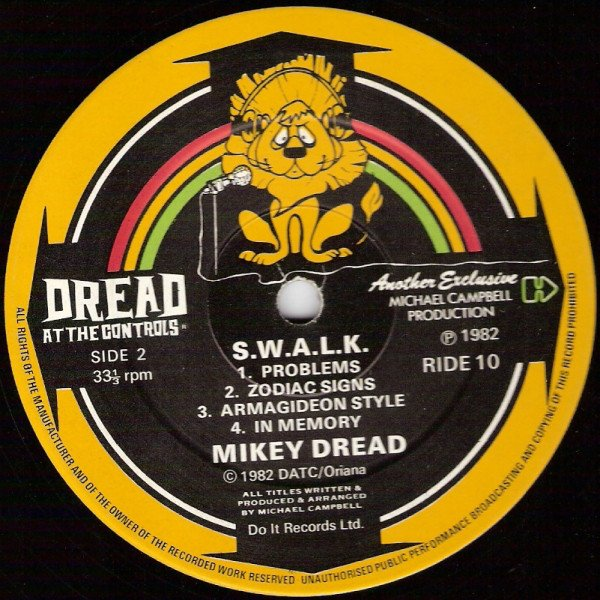 selection n357 - mikey dread - armageddon style