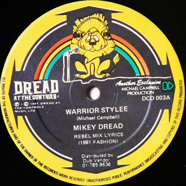 selection n360 - mikey dread - warrior style