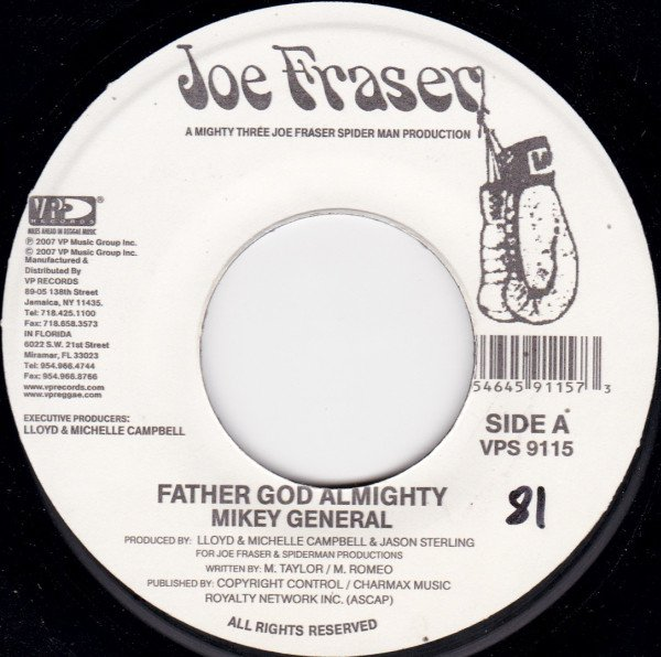 selection n361 - mikey general - father god almighty