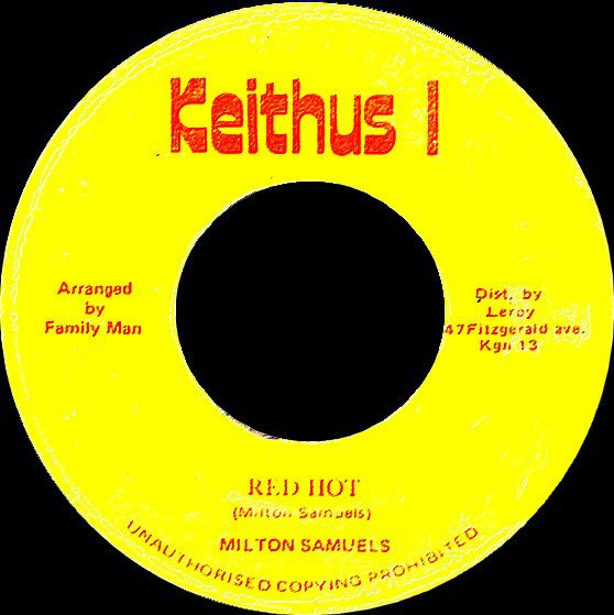 selection n362 - milton samuels - red hot