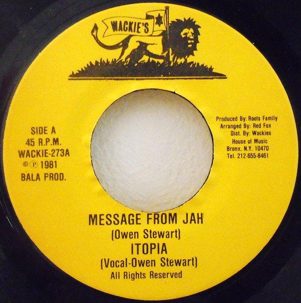 selection n371 - owen stewart - message from jah