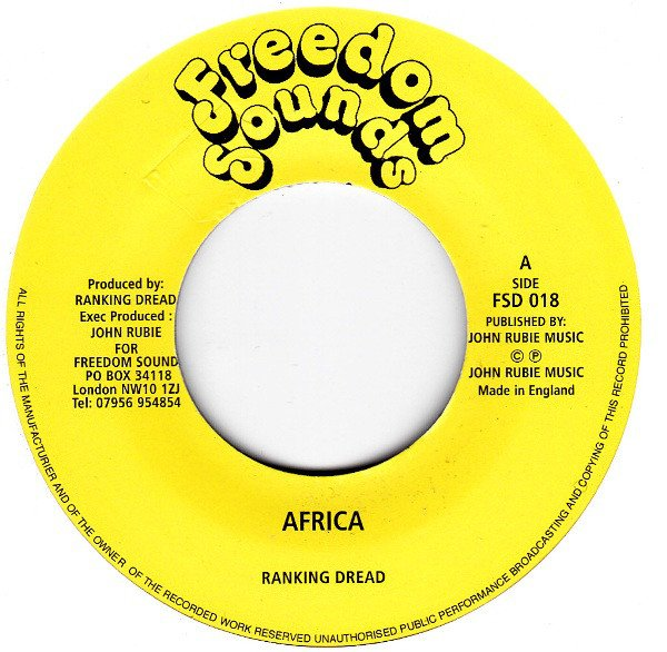 selection n394 - ranking dread - africa