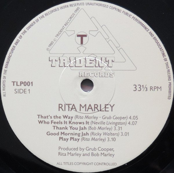 selection n410 - rita marley - good morning jah