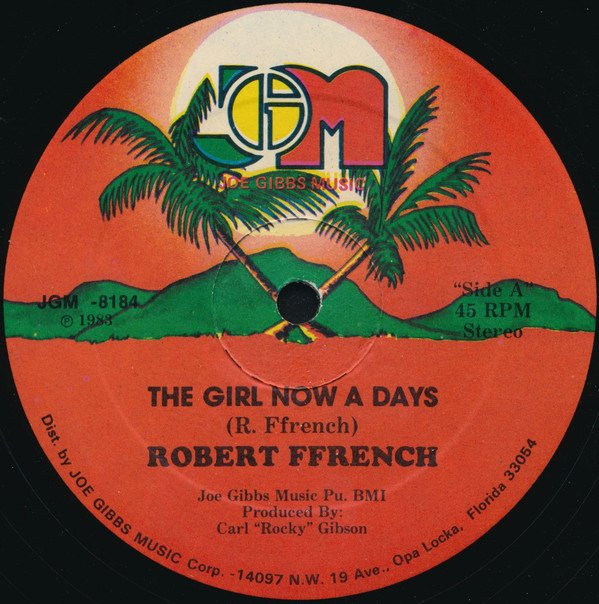 selection n411 - robert ffrench - girl now a day