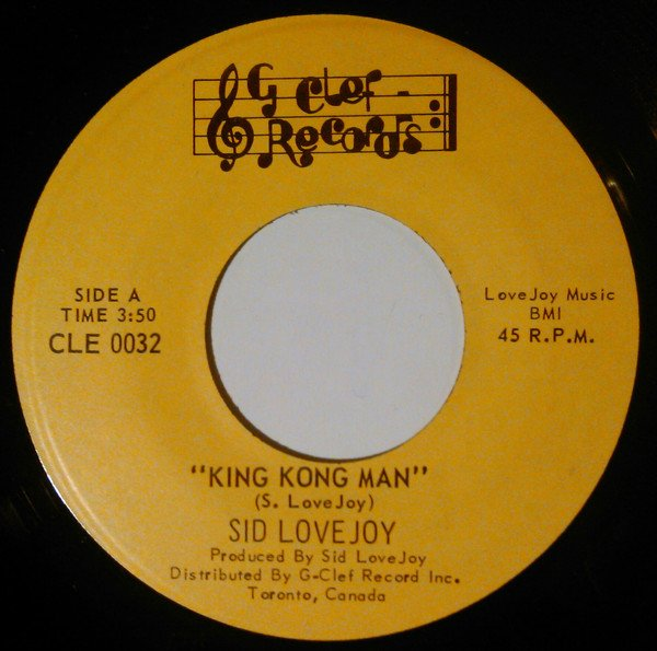 selection n421 - sid lovejoy - king kong man