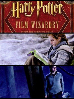 "Video du livre "" Harry Potter Film Wizardry "" et ses images inédites."