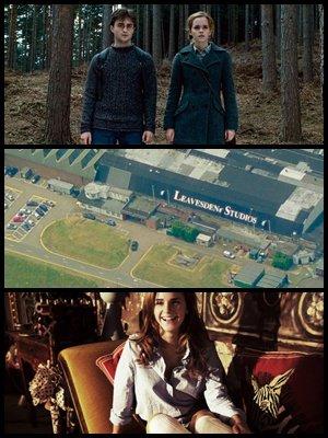 Deux nouveaux clip sont disponible, le trio et d'autres acteurs sont de retour au studios Leavesden, et anciens  Photoshoot de Emma et Rupert.