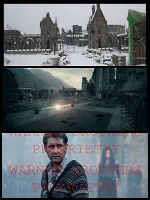 Des photos inédits prisent au Studios Leavesdens pour le tournage de la deuxième partie