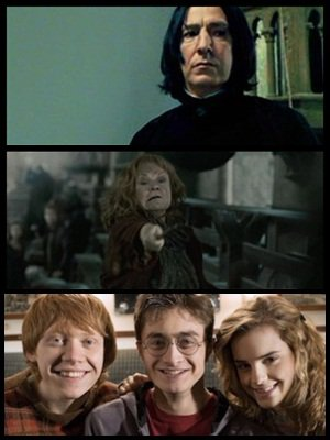 Tout les acteurs nous disent ce qu'ils ont vécu ..  leur adieux à la saga, et photo du trio en 2007!