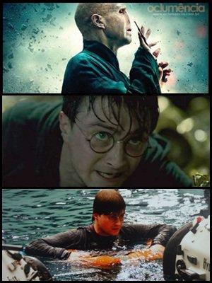 """Nouveau poster de Voldemort, Harry, Ron et Hermione, clip inédit intitulé """" où nous nous sommes arrêtés """", scène inédites du trio à Gringotts, nouvelle image du jeux video, et une dizaine de photos des tournages des 8 films."""
