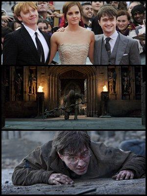 Quatre nouveaux extraits ( encore .. ), des images de l'avant premières et des précisions sur Pottermore, deux spots TV inédits, les extraits en VF et des critiques de la deuxième partie.