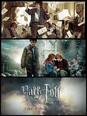 Découvre les 50 meilleurs moment de la saga Harry Potter ( liste fait par des fans. ), de nouveaux posters et une video du jeux video de la deuxième partie des reliques de la mort