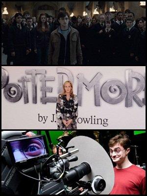Un très beau records pour la deuxième partie des Reliques de la Mort dans le box office, plus d'infos et des révélations ( videos, spoilers ) sur Pottermore et une nouvelle photo de tournage!