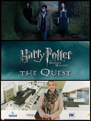 """Des images inédites de tout les films, une nouvelle video dévoilé par """" Harry Potter : The Quest """", et inauguration de la nouvelle clinique de J.K Rowling aujourd'hui! ( 08.11.2011 )"""