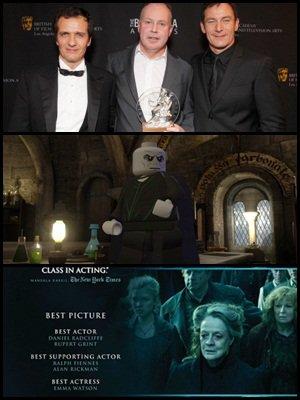 """La remise des prix a la Grammy Award à David Yates, David Heyman et Helena Bonham Carter, de nouvelles images du jeux LEGO : """" Harry Potter : Année 5 à 7 """", et des posters de la Warner pour les prix. Et de nouvelles photos sur Potterpix!"""