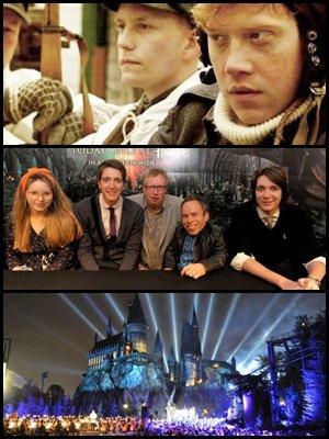 """Bande annonce du nouveau film de Rupert Grint, les acteurs présents a Londre pour la sortie du DVD au Royaume-Uni. Question du jour :   """" De nouveaux parcs à thème Harry Potter dans le monde? """""""