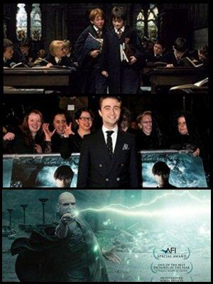 """Rupert Grint, alias Ron Weasley, et Daniel Radcliffe, alias Harry Potter, ne sont pas si proche dans la réalité, récapitulatif de l'avant première française du film """" The Woman in Black """" avec Daniel.R, et nouvelles affiches pour la campagnes des Oscars de la Warner Bros!"""