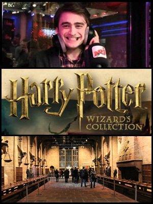 Passage de Daniel Radcliffe sur notre radio francaise NRJ, bande annonce et site web officiel d'un nouveau coffret des dvd's Harry Potter, et la liste des acteurs présent le 31 Mars à Londres pour l'ouverture du musée!