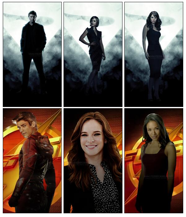 On peut remarquer que dans toutes séries dite de Heros il y a toujours deux femmes !  ....le tout est de savoir la qu'elles préférons nous ?