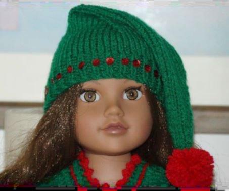 """Tutoriel """"Bonnet de lutin"""" Pour Kidz'N'Cats- Zwergnase - Journey Girl ou poupées similaires.."""
