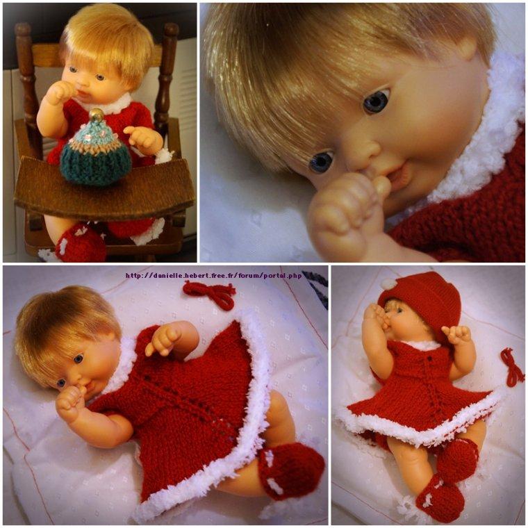 Une petite tenue de Noël avec du retard!!