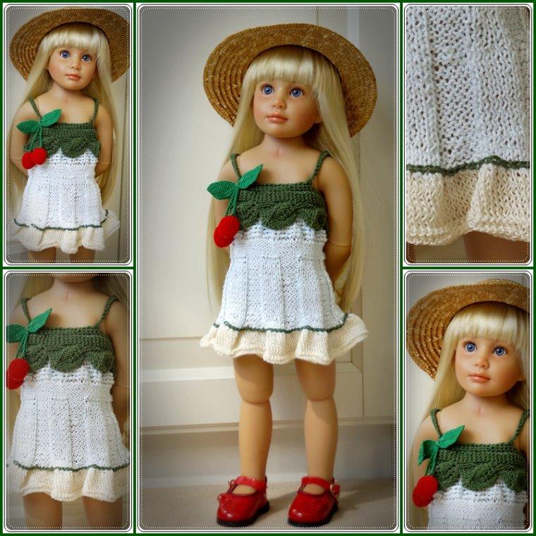 Une petite robe printanière pour deux de mes fifilles!