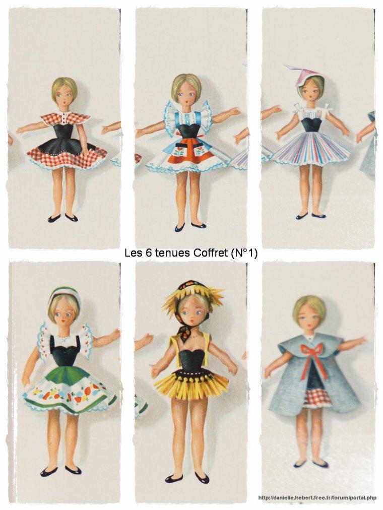 Caroline, poupée Clodrey.... Oscar du jouet en 1961...